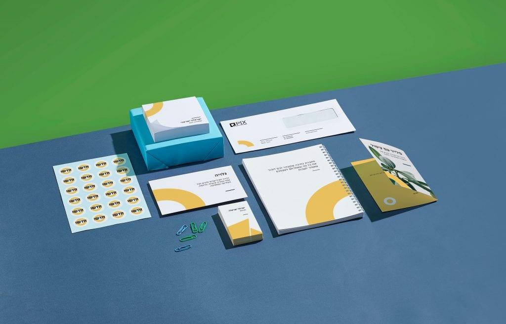 מדבקות, מחברות ומוצרי דפוס - PIX