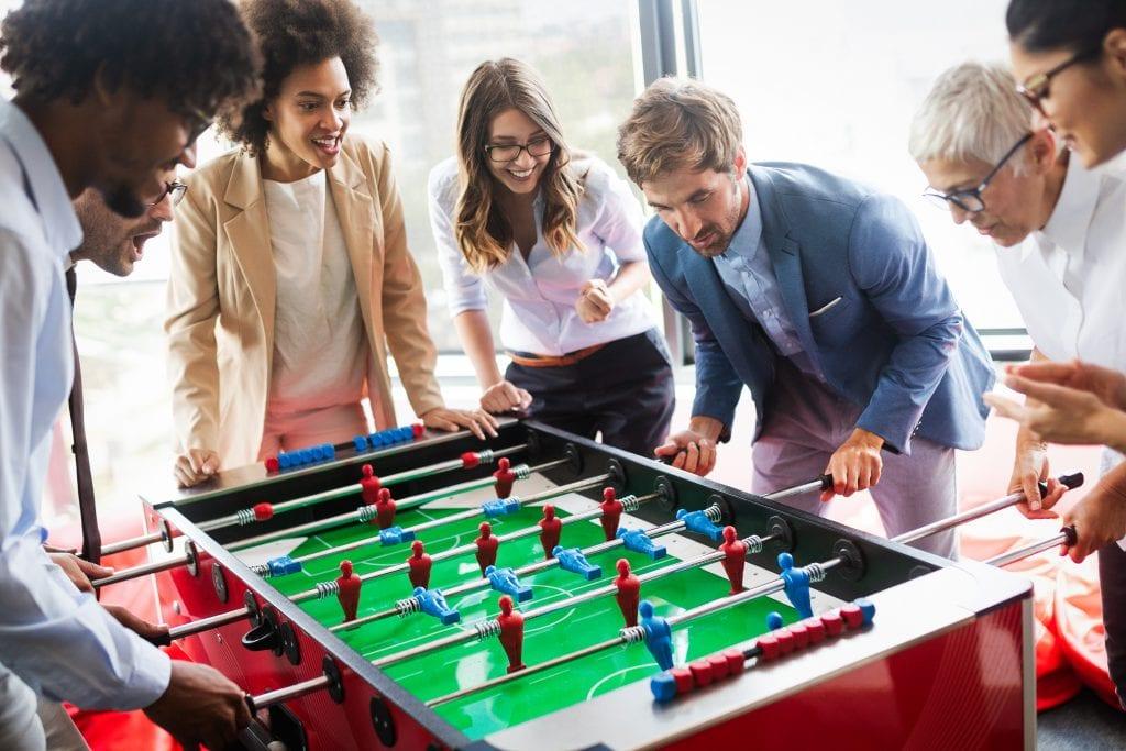 משחקים באירוע חברה